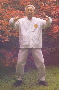 Qigong master Yu Yong Nian